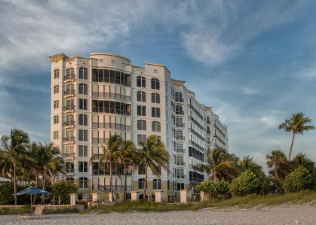 Sancerre on the beach in Naples, Florida